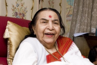 Shri Mataji is always joyful
